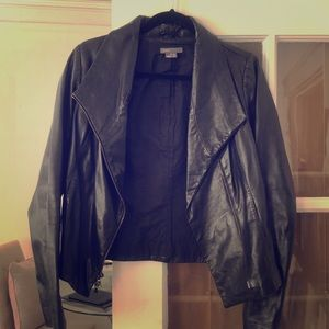 Vince medium leather jacket